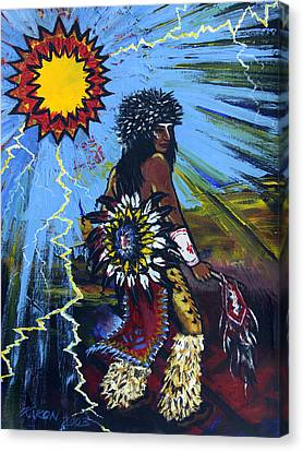 Sun Dancer Canvas Print by Karon Melillo DeVega
