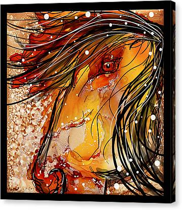Sun Dancer Canvas Print by Shannon Story