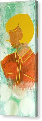 1960 Canvas Print - Sun-in by Desiree Warren