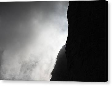 Sun In The Clouds Canvas Print