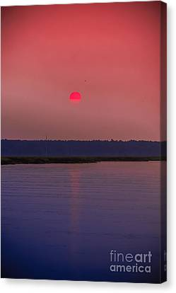 Sun Is Coming Down Canvas Print