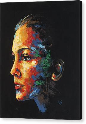 Sun Kissed - With Hidden Pictures Canvas Print by Konni Jensen