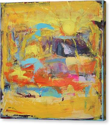 Sun Overlapping Canvas Print