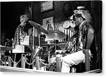 Sun Ra Arkestra At The Red Garter 1970 Nyc 9 Canvas Print