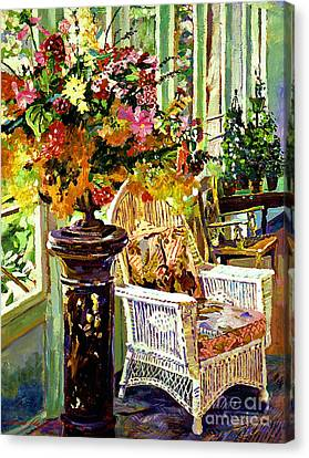 Sun Room Canvas Print by David Lloyd Glover