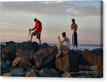 Sun Set Shooters Canvas Print