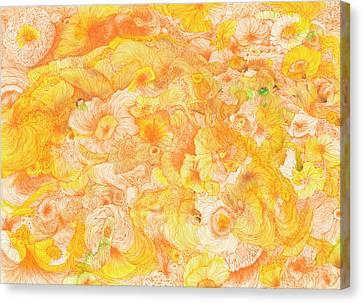 Sun - #ss16dw022 Canvas Print by Satomi Sugimoto