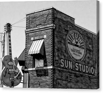 Sun Studio Collection Canvas Print by Marvin Blaine