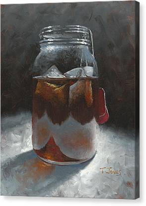 Sun Tea Canvas Print by Timothy Jones