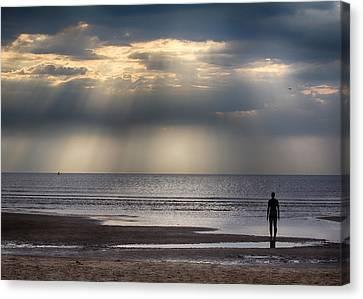 Sun Through The Clouds 2 5x7 Canvas Print