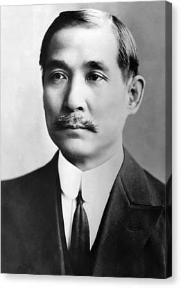 Sun Yat-sen, 1866-1925, The First Canvas Print by Everett