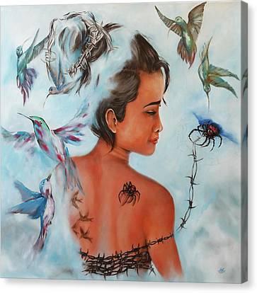Sunanta Canvas Print by Harri Spietz