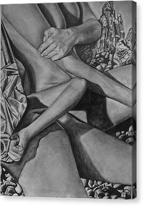 Sunbathing Canvas Print by Lori Miller