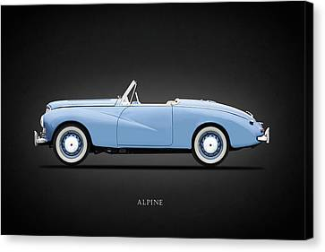 Sunbeam Alpine Sport 1953 Canvas Print