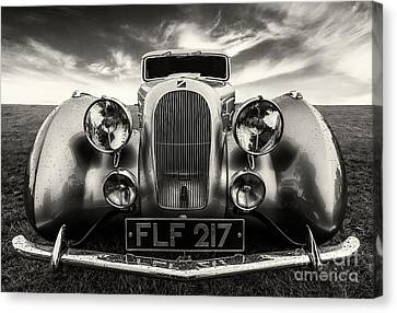 Grill Canvas Print - Sunbeam Talbot Darracq by Adrian Evans