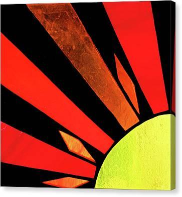Canvas Print featuring the photograph Sunburst by Kristin Elmquist