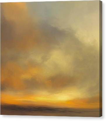 Sunburst Canvas Print by Lonnie Christopher