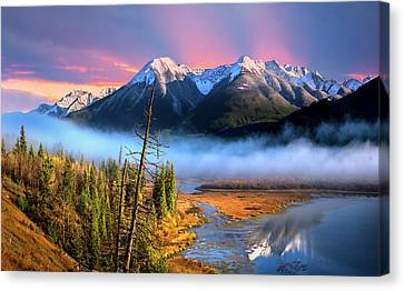 Canvas Print featuring the photograph Sundance by John Poon