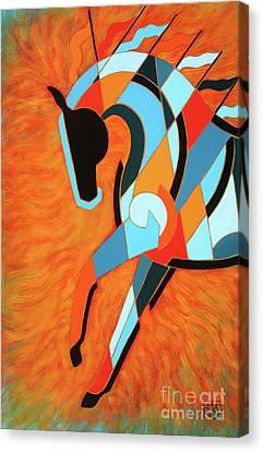 Sundancer Of The Fire II Canvas Print
