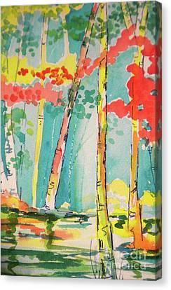 Sunday At Lake Lanier Canvas Print