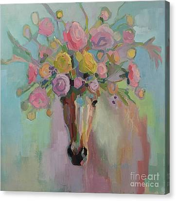 Sunday Best Canvas Print by Kimberly Santini