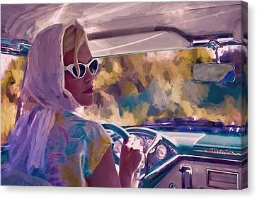 Sunday Drive Canvas Print by Louis Ferreira