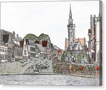 Sunday Morning Canvas Print by Cecil Fuselier
