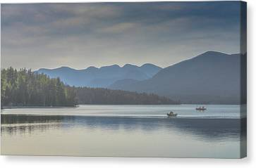 Canvas Print featuring the photograph Sunday Morning Fishing by Chris Lord