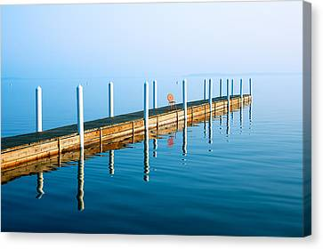 Union Terrace Canvas Print - Sunday Morning Pier by Todd Klassy