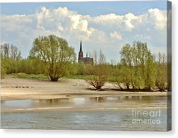 Sunday On The Rhine Canvas Print