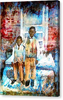 Sundee Photo Canvas Print by Ron Carson