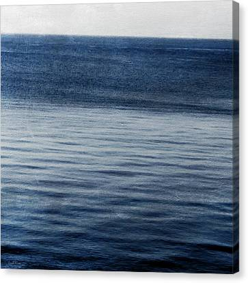 Sundet- Abstract Art Canvas Print by Linda Woods