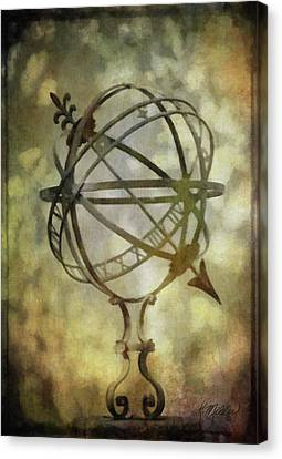 Sundial Canvas Print by Kathie Miller