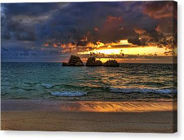 Sundown Canvas Print by Ryan Wyckoff