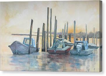 Sundown Stillness Canvas Print by Susan Richardson