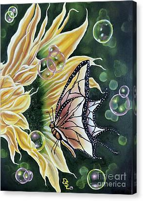 Sunflower Fantasy Canvas Print