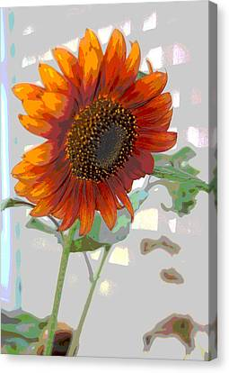 Sunflower Fun II Canvas Print