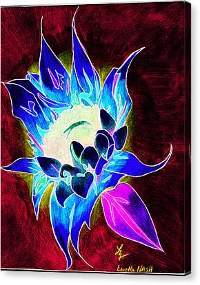 Sunflower Canvas Print by Loretta Nash