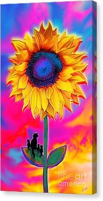 Canvas Print - Sunflower Sunrise by Nick Gustafson
