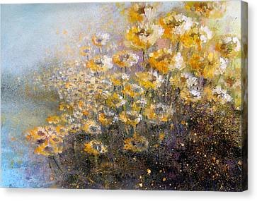 Sunflowers Canvas Print by Andrew King
