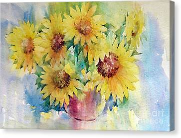 Canvas Print - Sunflowers by Natalia Eremeyeva Duarte