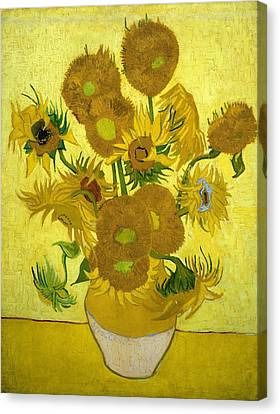 Sunflowers Canvas Print by Van Gogh