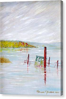 Sunken  Canvas Print by Norman F Jackson