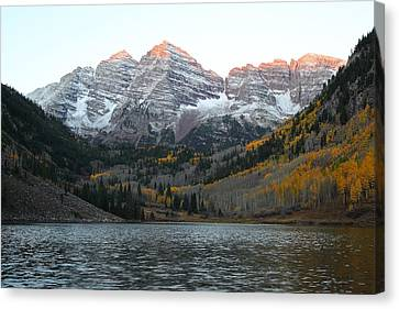First Light Canvas Print by Eric Glaser