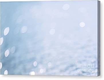 Sunlight On The Water Canvas Print