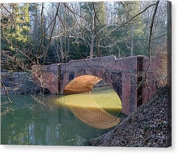 Sunlight Under Bridge Canvas Print