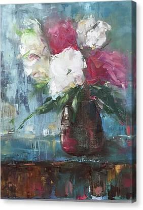 Sunlit Bouquet Canvas Print