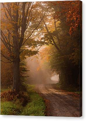 Serenity Of Fall Canvas Print