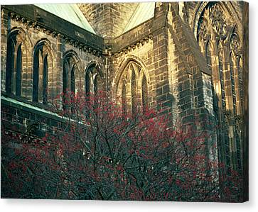 Sunlit Glasgow Cathedral Canvas Print