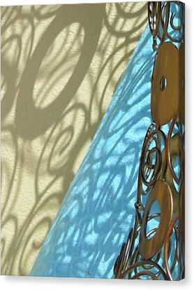 Sunlit In Swirls Canvas Print